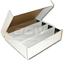 2 BCW Monster Storage Box 3200 CT. Sports Pokémon trading 4500 gaming cards $25.99