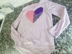 girls size 10 12 clothing lot jacket shorts long sleeve tops justice cat and $15.00