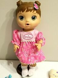 Hasbro Baby Alive With Extra Dress amp; Washcloth #C2692 82014A $27.95