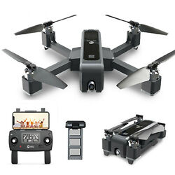 Holy Stone HS550 Foldable GPS FPV Drone with 2K HD Camera Quadcopter Brushless $155.97