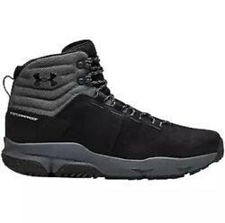Under Armour UA Tactical Hiking Hunting Boots Black 3021367 001 Men's Size 8.5 $100.00