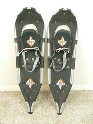 USA made REDFEATHER 34 in. Backcountry Snowshoes 10quot; x 34quot; w Ice Cleats $149.00