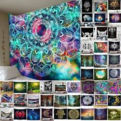 Boho Blanket Tapestry Wall Hanging Mandala Hippie Bedspread Throw Home Mat Decor $13.29
