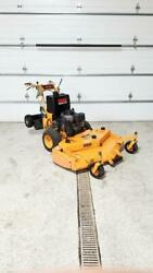 Scag 52quot; hydro walk behind commercial lawn mower kawasaki motor sulky $3990.00