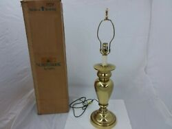 Stiffel Northbrook Brass Lamp Vintage 1996 30quot; Tall $100.00