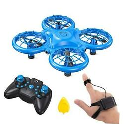 DK01 Mini Drones for Kids Multiple Remote Controls Hand Operated RC $30.36