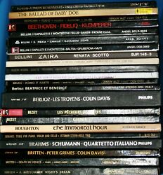Vinyl Records 140 Box Sets of Classical Opera Your Choice EXC $10 $10.00
