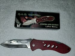 Frost Cutlery SAR Tactical Small Folding Pocket Knife $5.00