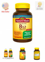 Nature Made Vitamin B12 1000 mcg Time Release Tablets 180 Count $16.07