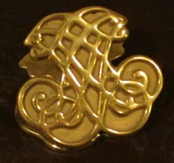 Virginia Metalcrafters Brass Desk Accessory Paper Clip Paperweight $9.90