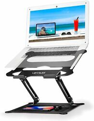 New Adjustable Foldable Laptop Notebook Tablet Riser Tray Holder Portable Stand $22.98