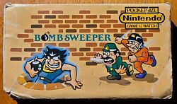 1987 Nintendo Game amp; Watch Bomb Sweeper Multi Screen Handheld Game POWER ISSUES $149.95