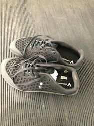 VIVOBAREFOOT 200061 12 WOMENS SIZE 37 L STEALTH II BLACK RUNNING SHOES $49.99