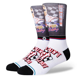 Talladega Nights First You#x27;re Last Ricky Bobby Stance Socks Large Men#x27;s 9 13 $19.99