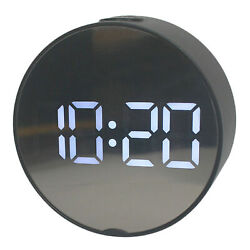 LED Digital Alarm Clock Battery Operated Only Small for Bedroom Wall $14.02