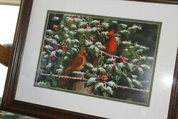 Dempsey Essick quot;Hanging in the Hollyquot; Professionally Framed stunning $99.00