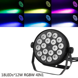 18LED*12W RGBW Stage Par Light DMX512 4IN1 Strobe Effect Washer Lamp Party Show $68.50