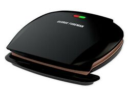 George Foreman 5 Serving Classic Electric Indoor Grill and Panini Press $39.99