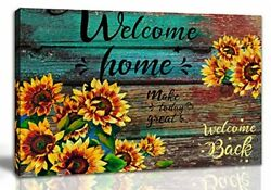 Farmhouse Canvas Art Kitchen Wall Decor Rustic Picture Painting Bedroom Framed $22.07