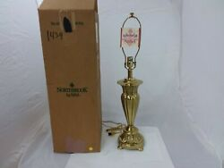 Stiffel Northbrook Brass Table Lamp Style 1439 Vintage 1990s 30quot; Tall $100.00