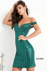 Jovani 04583 Short Cocktail Dress LOWEST PRICE GUARANTEE NEW Authentic $480.00