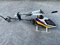 Align TREX Pro 450 Rc Helicopter flown for demo only still new $275.00