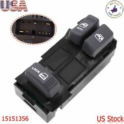 15151356 Power Master Window Switch Driver Side For 1995 2001 Chevrolet GMC SUV $17.99