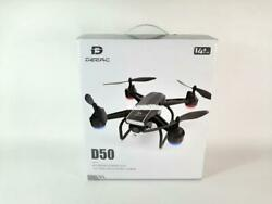 DEERC D50 Drone for Adults with 2K UHD Camera FPV Live Video 120° FOV PREOWNED $62.98