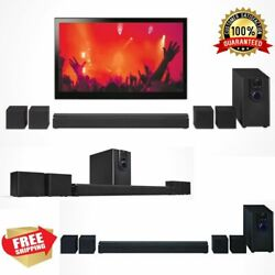 Home Theater System 32quot; Bluetooth Surround Sound 5.1 Channel Music Compact NEW $85.33