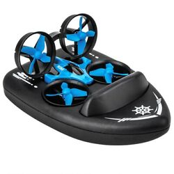 Remote Control Drone 3 in 1 RC Manufacture Land Water Air Helicopters Kids Gifts $48.00