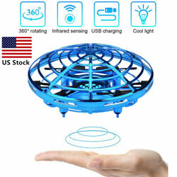 DEERC Hand Operated Mini Drone for Kids Adults Flying Ball Toy UFO Helicopter US $15.99