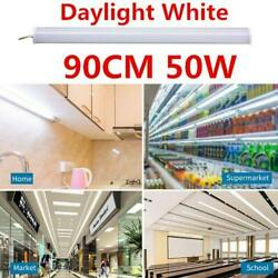50W Right Angle Office Home Light LED Batten Linear Tube Cool White Ceiling Lamp