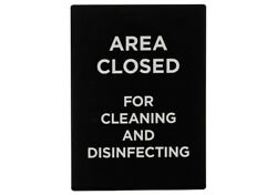 Winco Practice Social Distancing Stanchion Sign Commercial Sign Outdoor Sign
