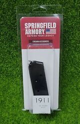 Springfield Armory Full Size 1911 A1 Series .45 7 Round OEM Magazine PI4523 $16.79
