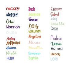 Easy to Order Custom Personalized Sticker Decal Vinyl Name Lettering FREE SHIP $2.99