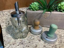 Antique or Vintage Kitchen Utensils 3 Different Cooking Tools Cookie Cutter $10.50