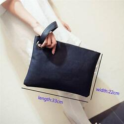 Zipper Evening Clutch Bag Handbag Designer For Women Leather Fashion Ladies W