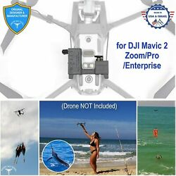 PROFESSIONAL Release Device Drone Fishing Payload Delivery for DJI Mavic 2 $150.00