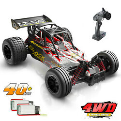 DEERC 9305E RC Cars 1:18 Scale 4WD Off Road Monster Truck 2 Batteries Toys Gift $74.59