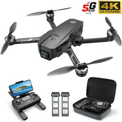 Holy Stone HS720 GPS FPV RC Drone with 4K Camera Quadcopter Brushless 2 Battery $215.97