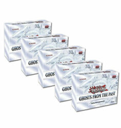 Yugioh Ghosts from the Past Sealed Display Box 5 MINI BOXES IN HAND $117.17