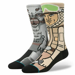STANCE Star Wars Socks Sub Zero Hoth Luke Skywalker Tauntaun Large $25.00