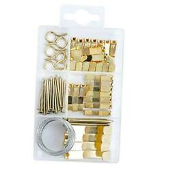 Picture Hanging Kit Includes Hooks Nailsand Picture Hanging Wire 55pcs $8.21