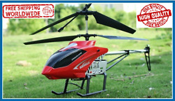 3.5ch 80cm Super Large Helicopter Remote Control Gyro Aircraft Drone With Camera $70.99