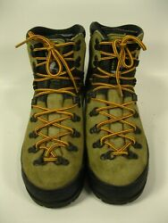LA SPORTIVA Mountain Women#x27;s Brown Suede Mountaineering Boots Size 40.5 US 9 $72.88