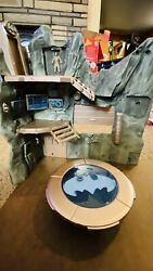 Batman Toy Accessories. Batcave And 1997 Batplane Kenner For Parts $25.00