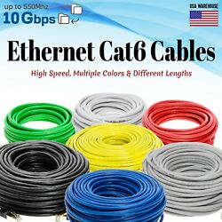 CAT6 Ethernet Patch Cable LAN Network Internet Modem Router Xbox PS3 Cord Lot $9.50