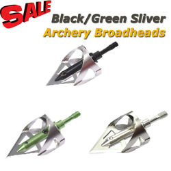 3pcs Broadheads 100gr Arrowheads Target Tips for Archery Bow Outdoor Small Game $12.08