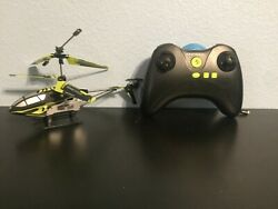 Protocol Aviator Remote Control Helicopter Black Green FOR PARTS READ DESC $19.99