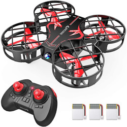 Snaptain H823H Portable Mini Drone For Kids Rc Pocket Quadcopter With Altitude $38.99